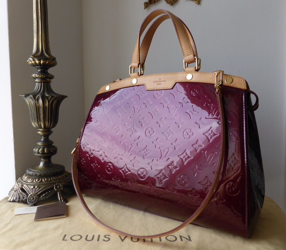 Louis Vuitton Brea GM in Rouge Fauviste Vernis