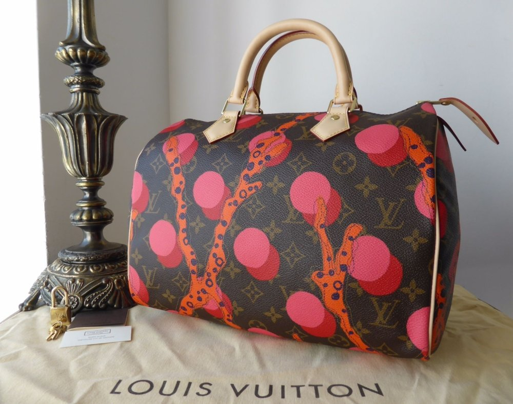 Louis Vuitton Limited Edition Speedy 30 Ramage Grenade - New