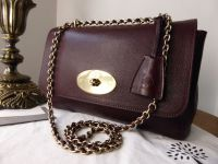 Mulberry Lily Medium in Oxblood Natural Leather