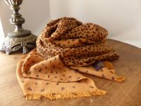 Mulberry Large Wrap in Fudge Degrade Leopard Print