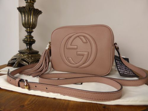 Gucci Soho Disco Crossbody In Powder Pink Calfskin SOLD - How to create paypal invoice gucci outlet online store authentic