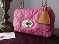 Mulberry Regular Lily in Candy Pink Denim Quilt - New