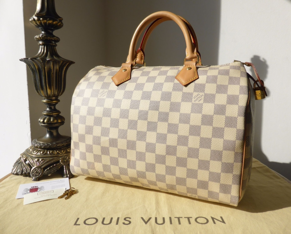 Louis Vuitton Speedy 30 in Damier Azur