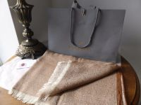 Mulberry Tamara Scarf in Oak  Superfine Cotton - New*