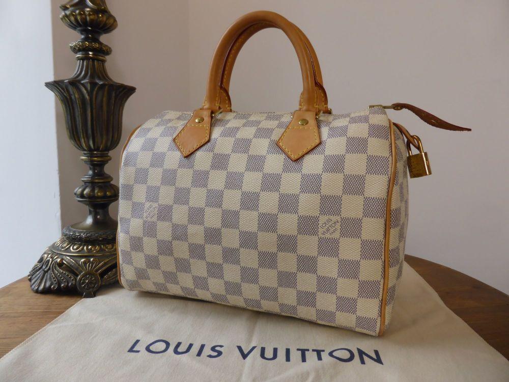 Louis Vuitton Speedy 25 in Damier Azur