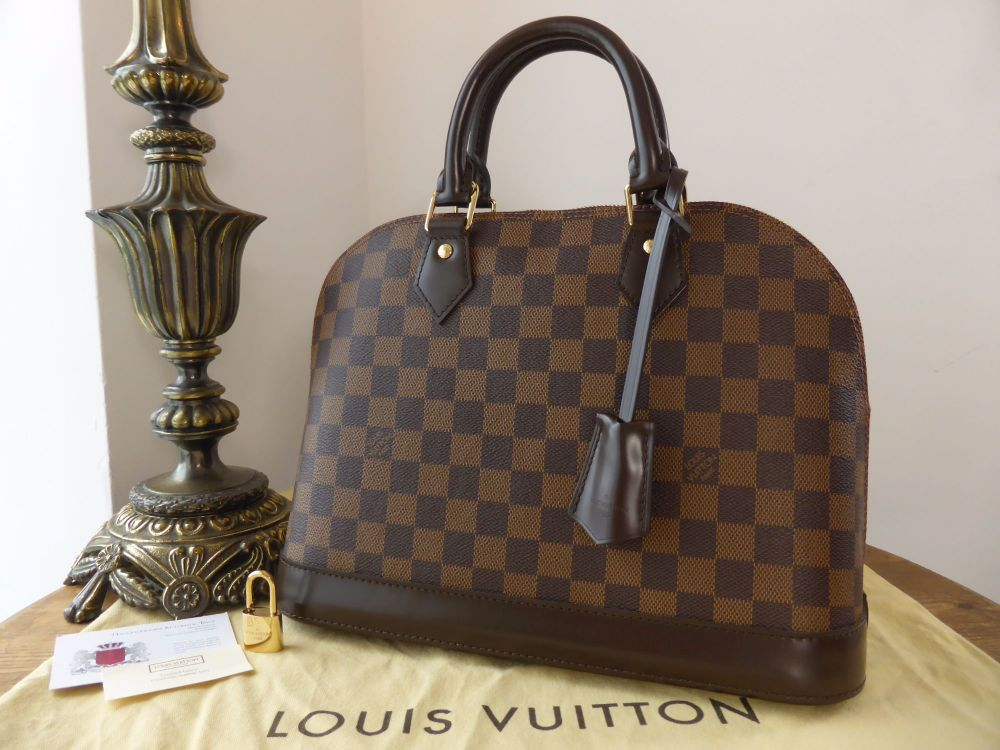 dd8213115d9 Louis Vuitton Alma PM Damier Ebene - SOLD
