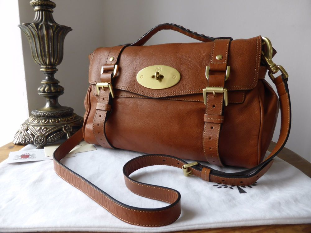 Mulberry Regular Alexa in Oak Soft Buffalo