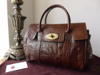 Mulberry Vintage Ledbury in Chocolate Congo Leather
