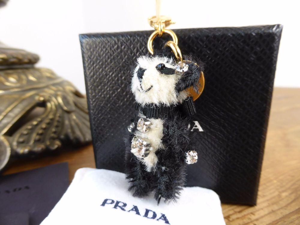 Prada Micro Panda Bag or Phone Charm