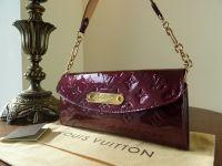 Louis Vuitton Sunset Boulevard Shoulder Clutch in Amarante Vernis
