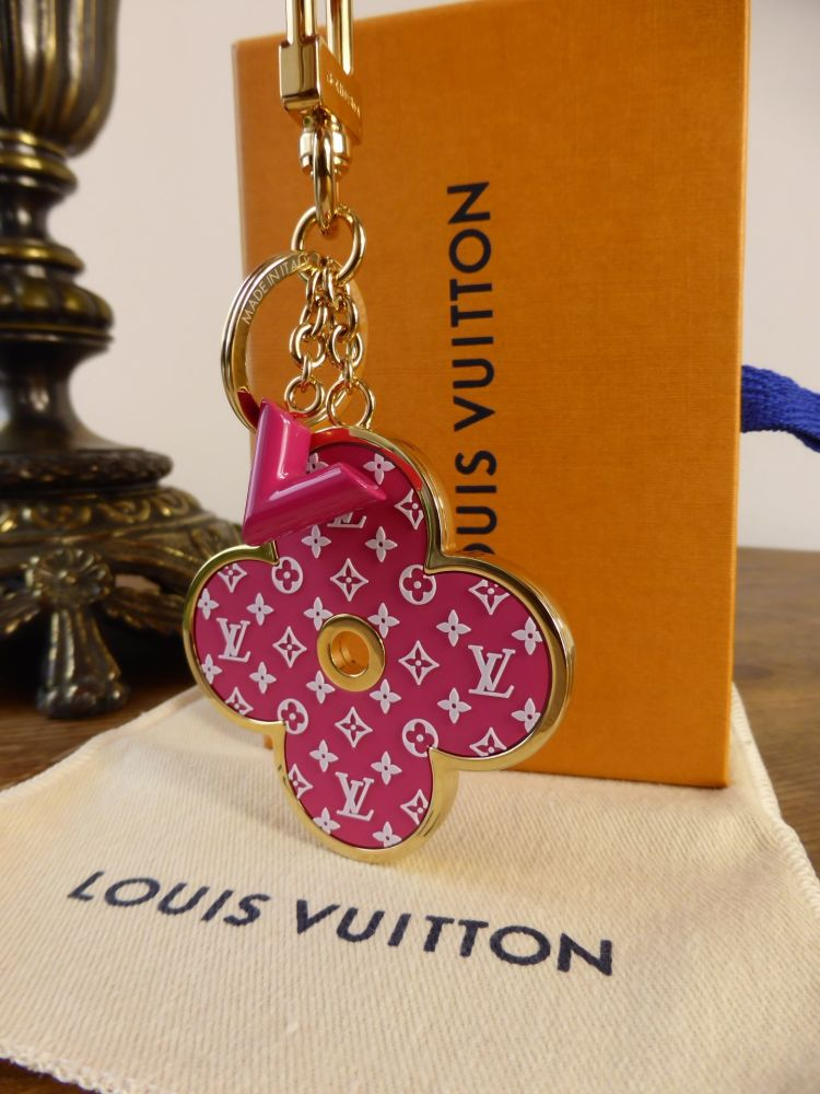 Louis Vuitton Monogram All-Over Bag Charm Key Holder