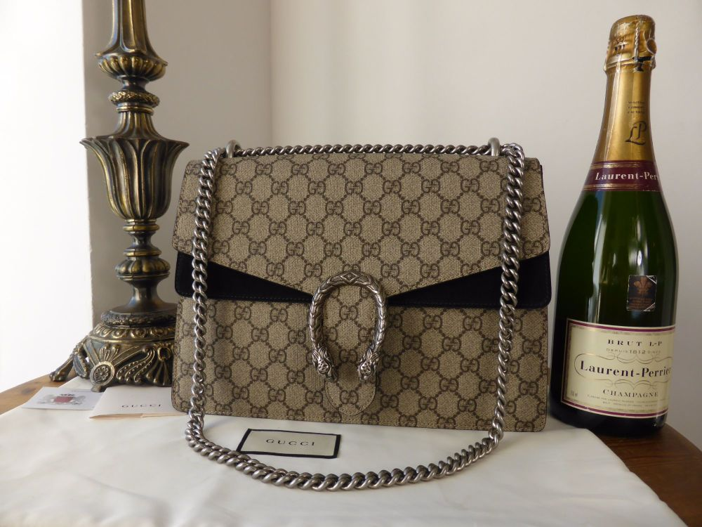 Gucci Dionysus GG Supreme Shoulder Bag - New