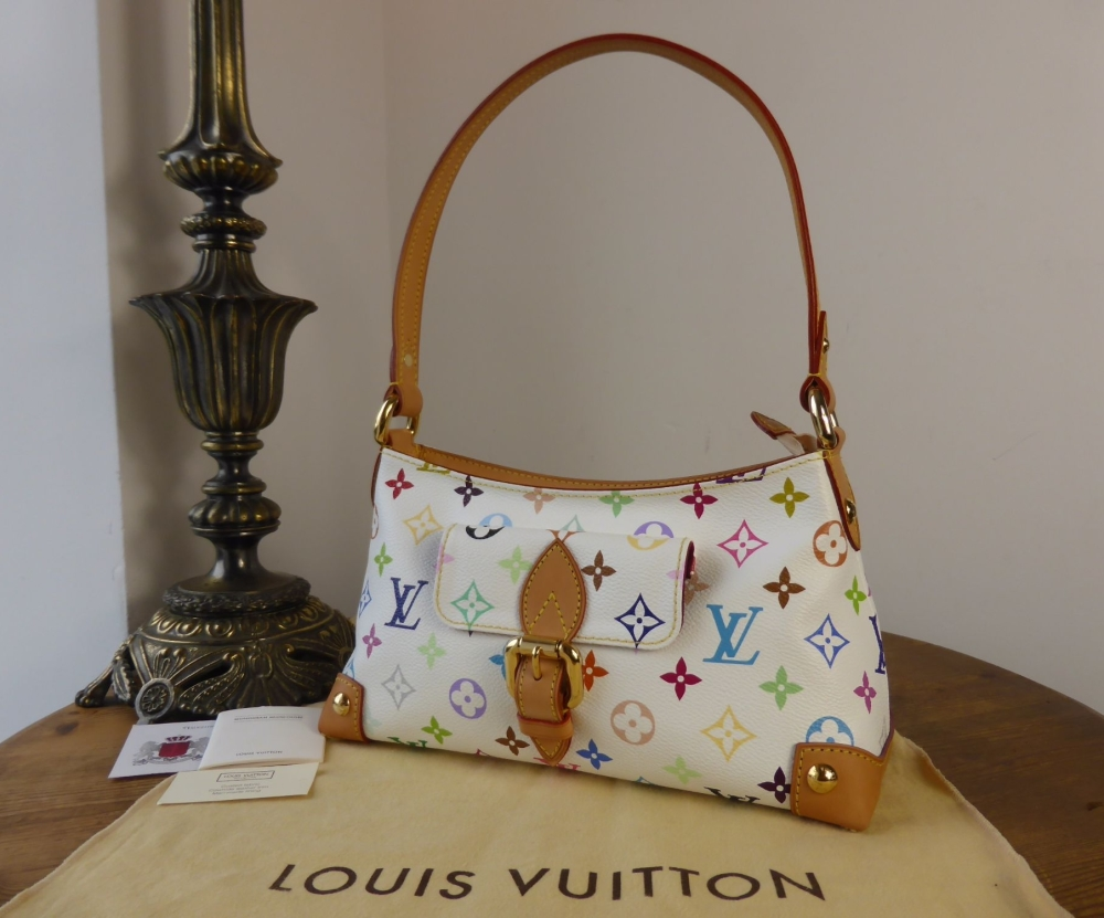 Louis Vuitton Eliza Small Shoulder Bag in Muticolore White