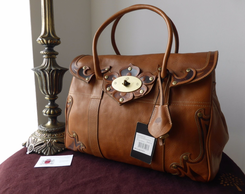 Mulberry Classic Vintage Bayswater in Tooled Oak Darwin Leather