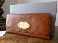 Mulberry Continental Purse in Oak Natural Leather