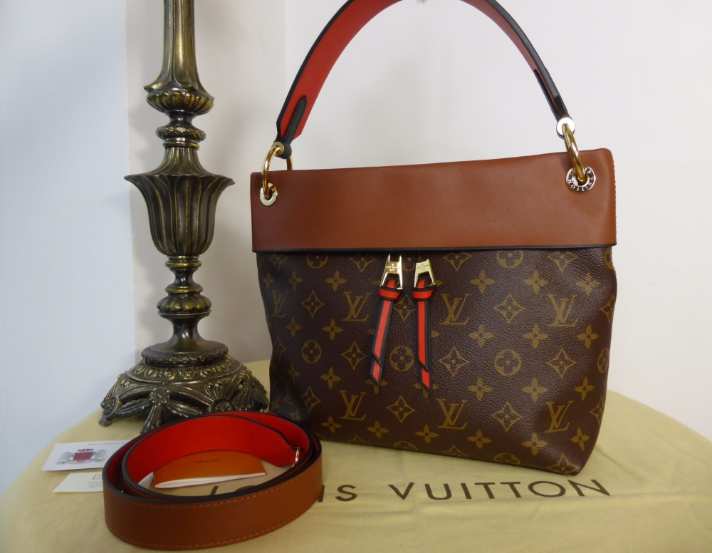 Louis Vuitton Tuileries Besace PM in Monogram and Caramel - As New