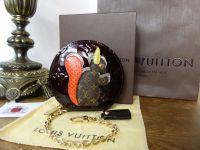 Louis Vuitton Monogram Vernis Animaux Squirrel Zip Around Coin Purse - As New