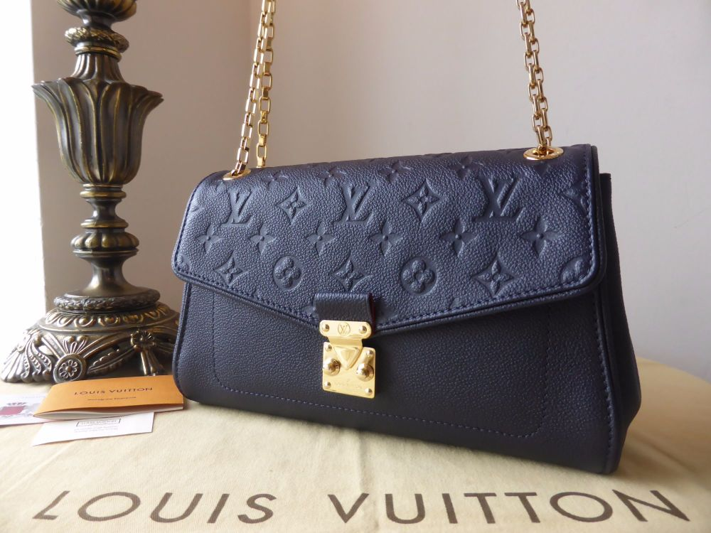 Louis Vuitton St Germain PM in Marine Blue