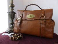Mulberry Oversized Alexa in Oak Buffalo Leather