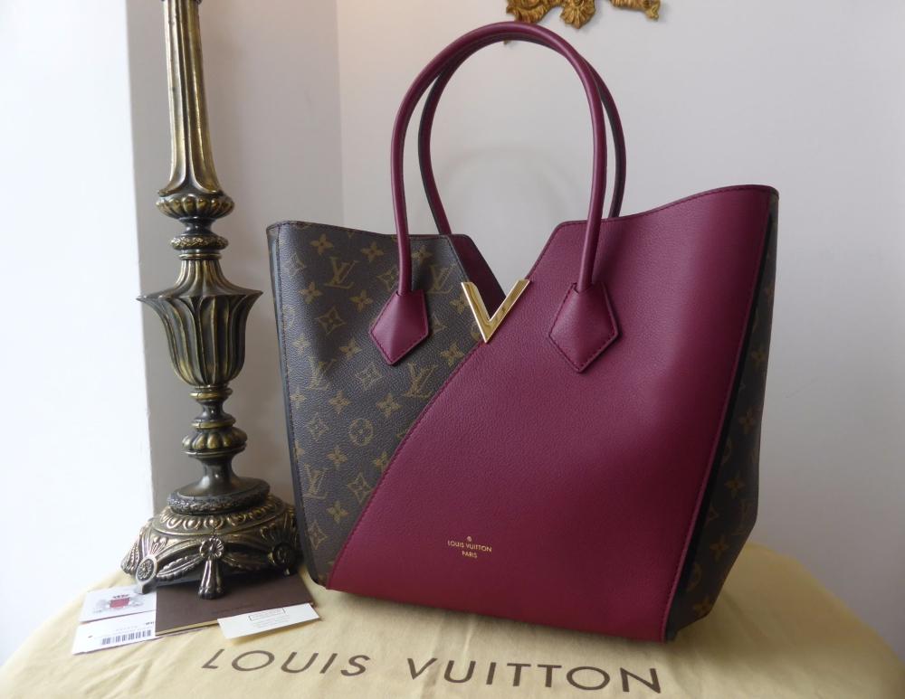 Louis Vuitton Kimono MM  in Monogram Calfskin Aurore - As New