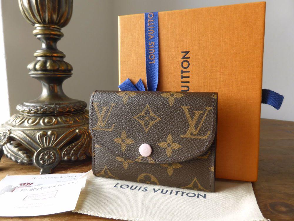 Louis Vuitton Rosalie Coin and Card Purse in Monogram Rose Ballerine - As N