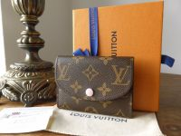 Louis Vuitton Rosalie Coin and Card Purse in Monogram Rose Ballerine - As New