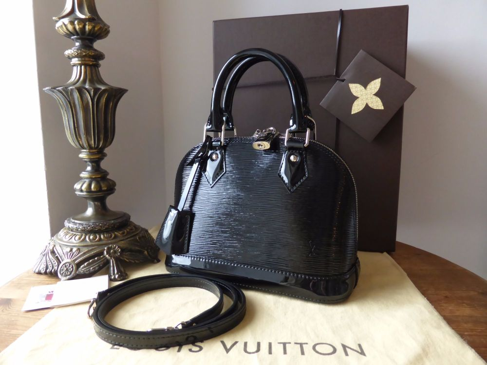 Louis Vuitton Alma BB Epi Noir Electric