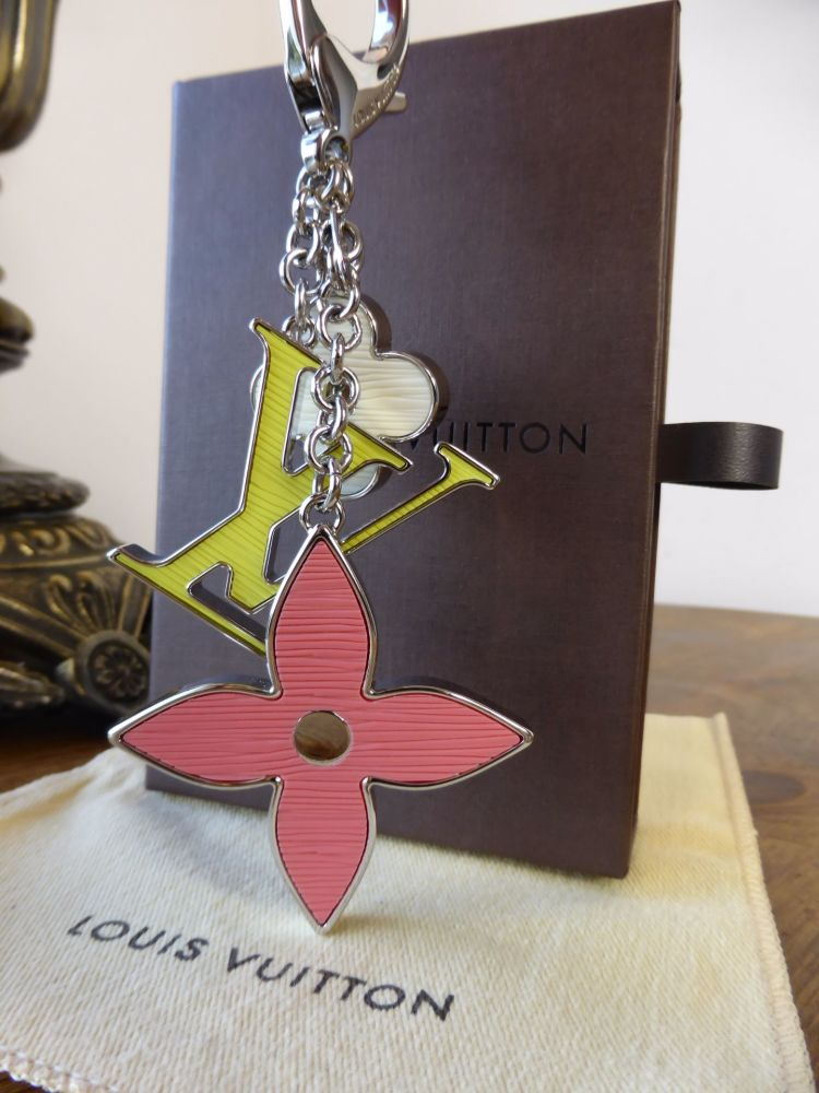Louis Vuitton Fleur d'Epi Bag Charm Keyring