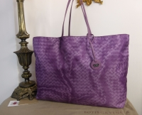 Bottega Veneta Large Intrecciolusion Tote in Corot - New