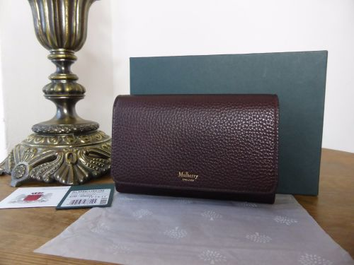9e41535d8d ... reduced mulberry medium continental purse in oxblood grained vegetable  tannned leather. sold 12806 8847c ...
