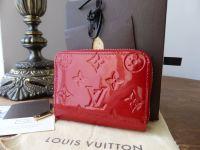 Louis Vuitton Zippy Coin Purse in Pomme D'Amour Vernis