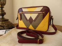 Mulberry Camera Bag in Oxblood, Sunflower, Chalk and Clay - SOLD
