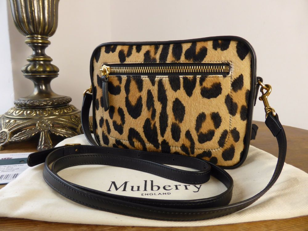 Mulberry Camera Bag in Leopard Print Haircalf
