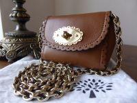 Mulberry Mini Cookie Bag in Oak Soft Matte Leather