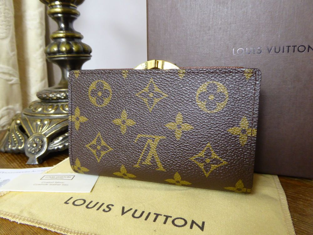 Louis Vuitton French Framed Purse in Monogram