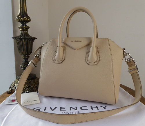 c5bfe04843b2 Givenchy Antigona Sugar in Nude Pink Goatskin - SOLD