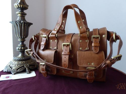 Mulberry Vintage Rosemary in Oak Darwin Leather