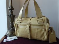 Mulberry Medium Mabel in Sand Lightweight Antiqued Leather - As New