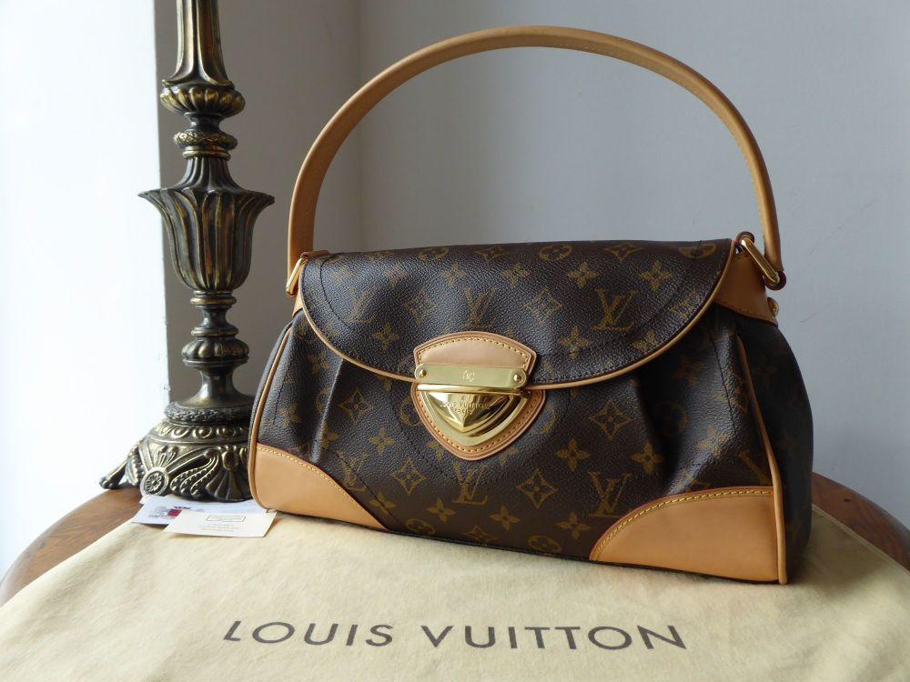 Louis Vuitton Beverly MM in Monogram Vachette  100% authentic Louis Vuitton