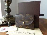 Louis Vuitton Helene Compact Purse Wallet in Monogram