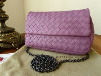 Bottega Veneta Small Messenger Clutch in Corot Intrecciato Nappa - New*
