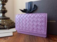 Bottega Veneta Card Case in Corot Intrecciato Nappa - New*