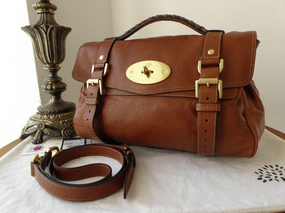 Mulberry Regular Alexa in Oak Soft Buffalo Leather