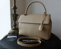 Saint Laurent Sac Moujik (Medium) in Nude Calfskin - As New
