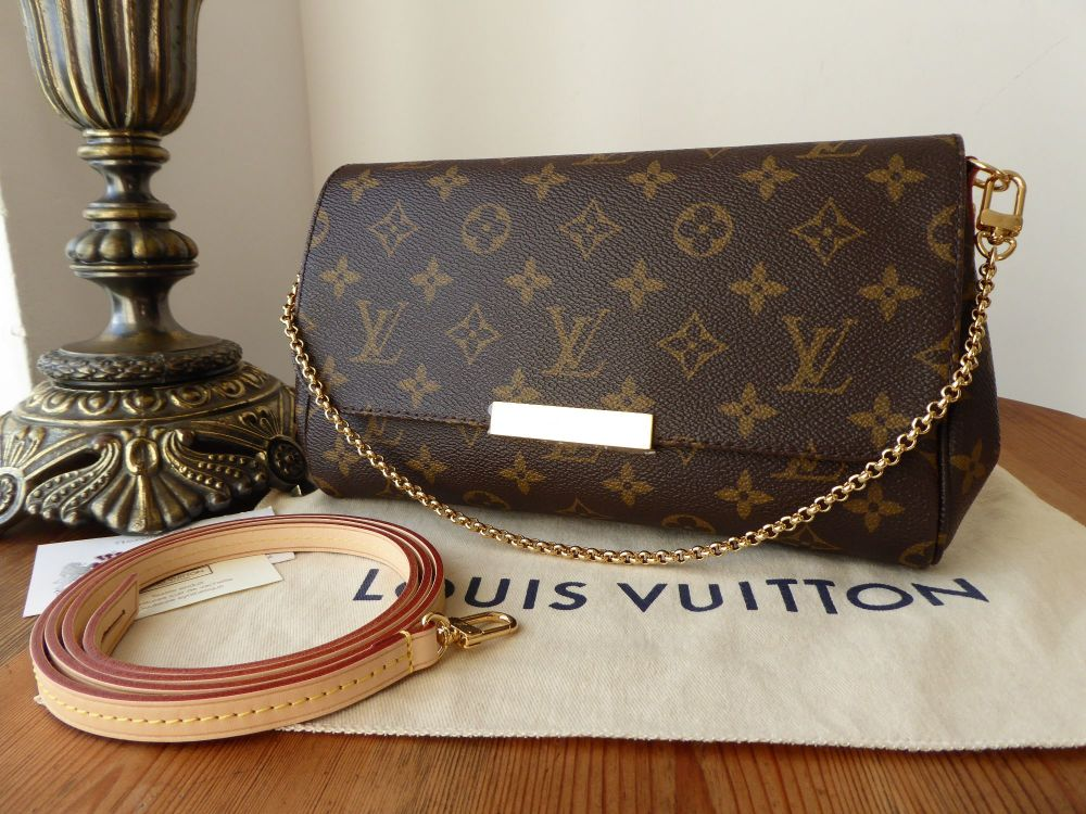 Louis Vuitton Favorite MM in Monogram - As New