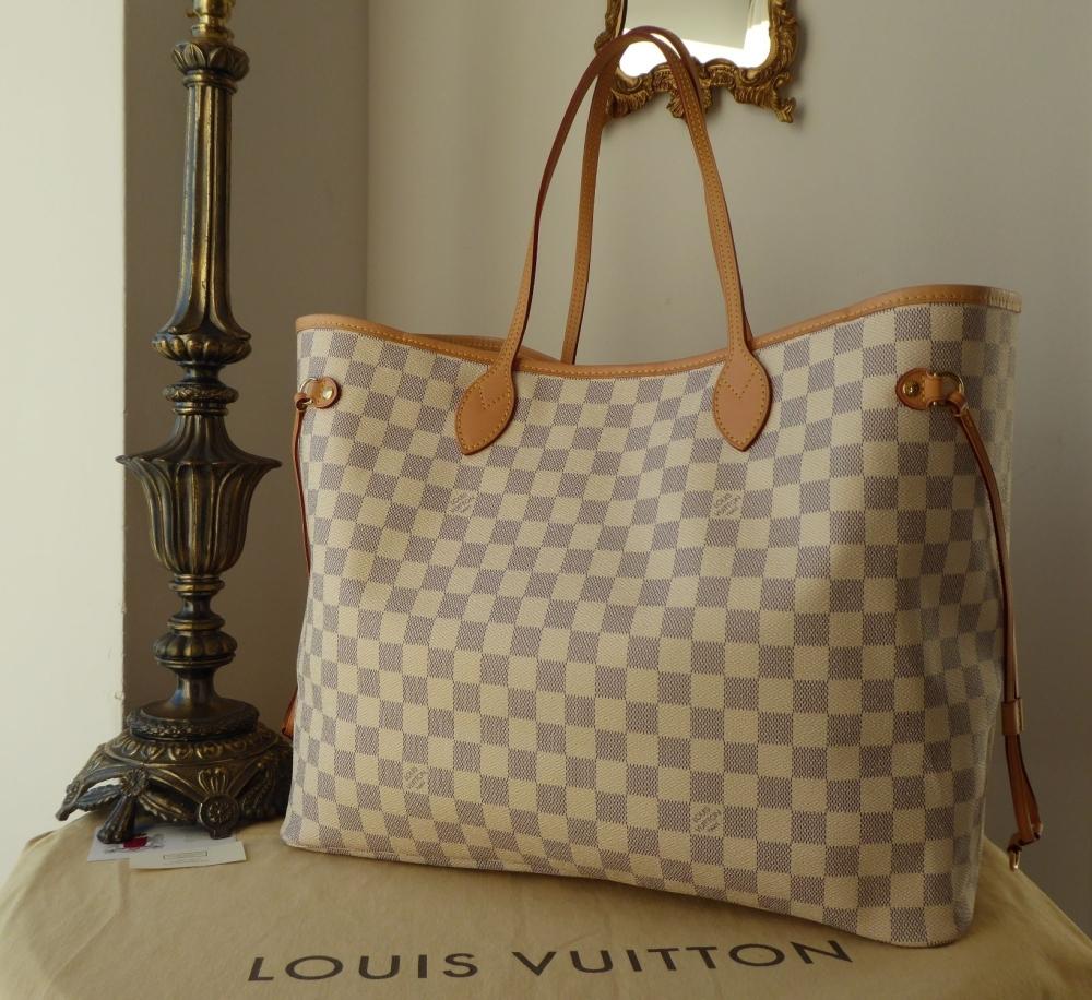 Louis Vuitton Neverfull GM in Damier Azure
