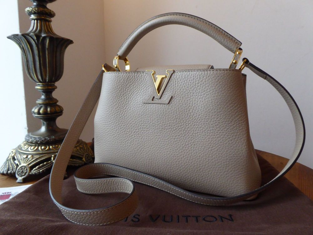 Louis Vuitton Capucines BB in Galet