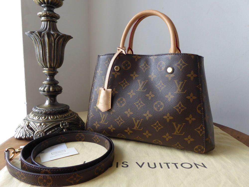 Louis Vuitton Montaigne BB Monogram