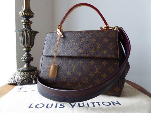 dda10385b138 Louis Vuitton Cluny MM Monogram Bordeaux Navy - SOLD