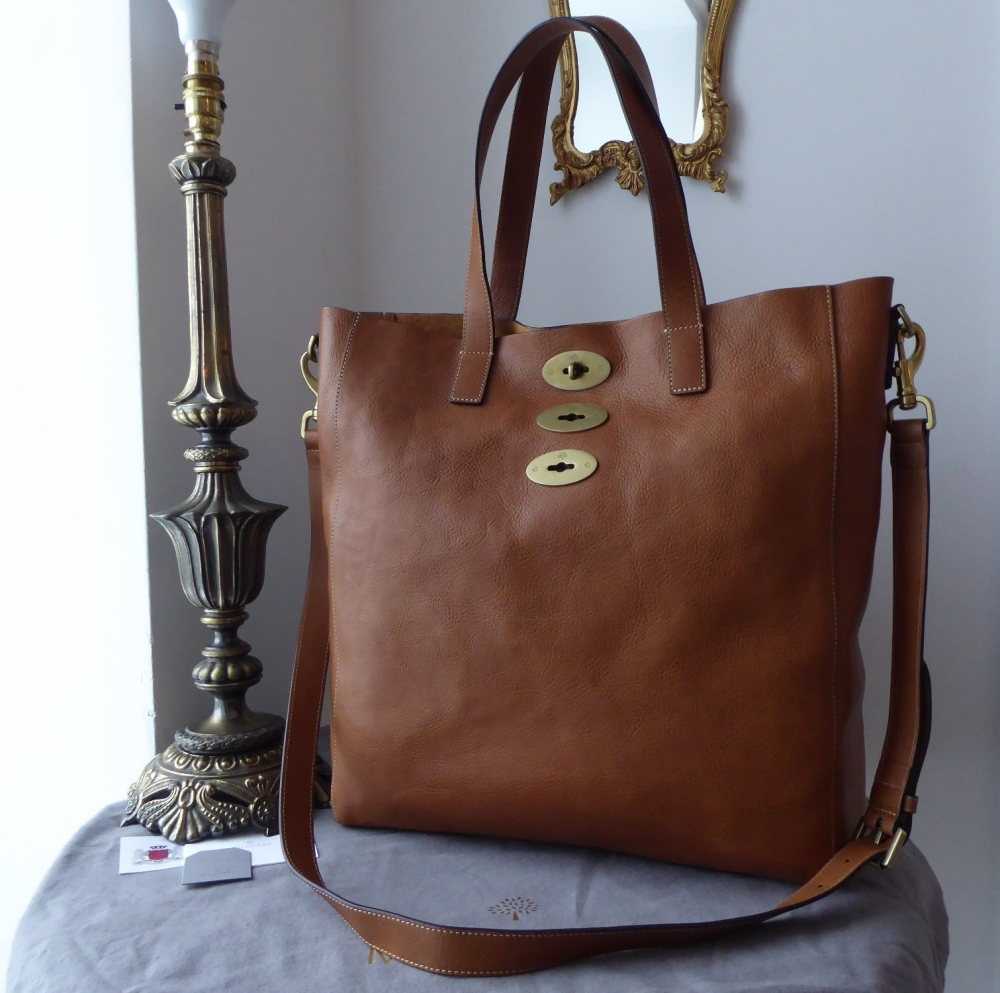 Mulberry Brynmore Tote in Oak Natural Leather - New